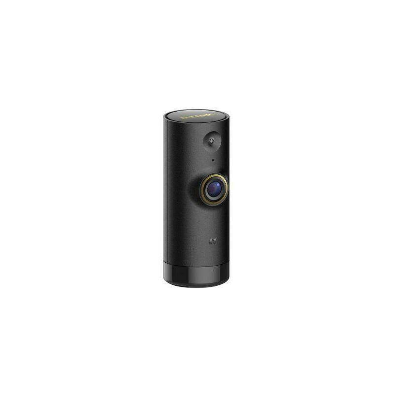 D-Link Mini 720p hd came'ra wifi hd ge're'e par des assistants vocaux amazon alexa et google home color noir dcs-p6000lh