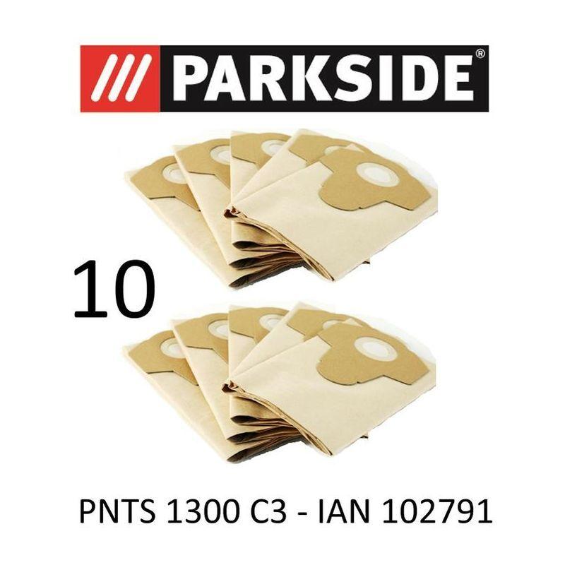 PARKSIDE 10 SOURD Sac d'aspirateur Parkside PNTS 1300 B2 1300B2 IAN 69502 LIDL