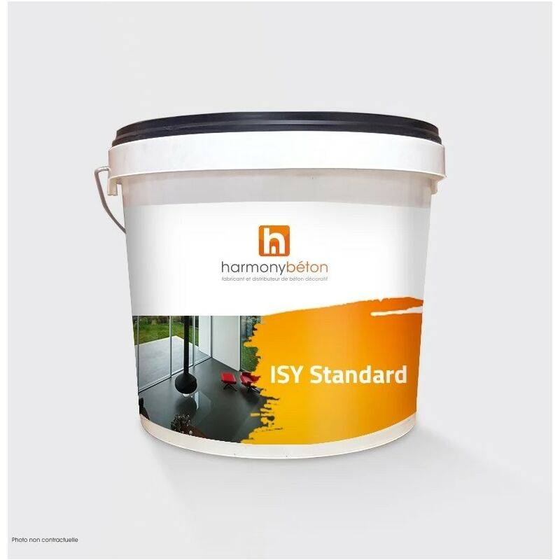 Béton ciré prêt à l'emploi standard - 10 kg 14.Platine - Harmony Béton