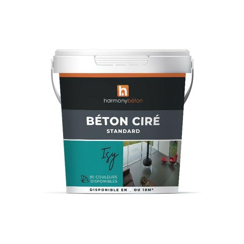 Béton ciré prêt à l'emploi standard - 10 kg 75.Vert d'eau - Harmony Béton