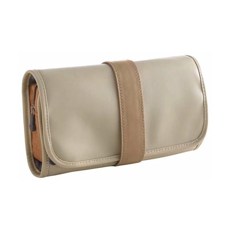 BETTERLIFE Sac à cosmétiques de voyage, sac de rangement pour cosmétiques de grande capacité, sac de lavage, sac de lavage de voyage extérieur étanche, portable