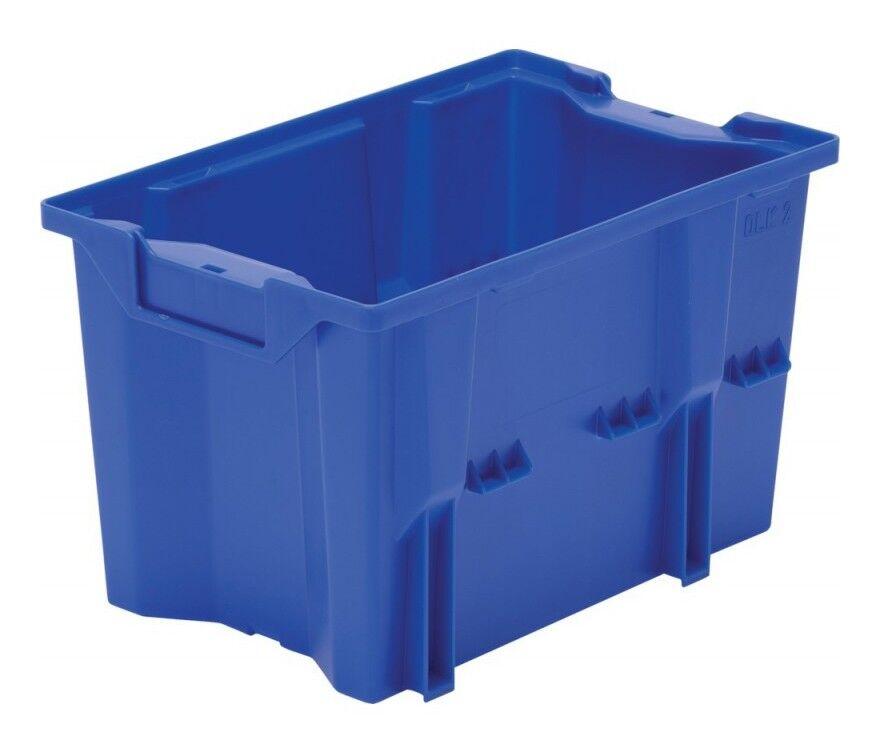 LAKAPE Boite de rangement DLK 2 bleu (Par 10)