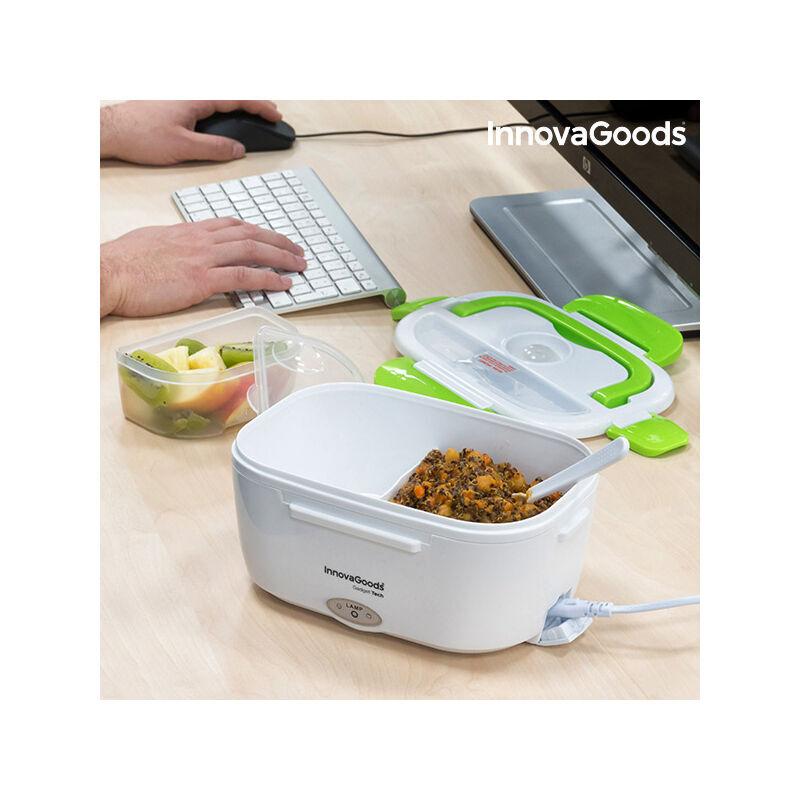 ROGAL Boîte déjeuner électrique innovagoods 40w blanche verte - Rogal