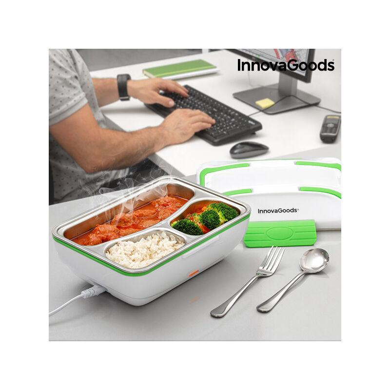 ROGAL Boîte déjeuner électrique pro innovagoods 50w blanche verte - Rogal