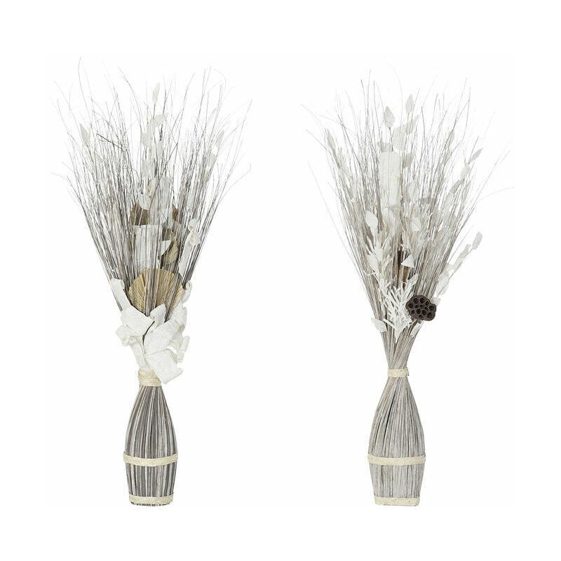 ROGAL Branche dkd home decor fleurs fibres de coco (2 pcs) (40 x 40 x 100 cm) Rogal