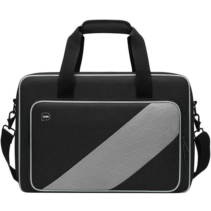 Bubm Le Sac De Rangement Compatible Avec La Console De Jeu Ps5 Classification Store Resistant A L'Usure Haute Qualite Portable Et Epaule Noir, Le Noir