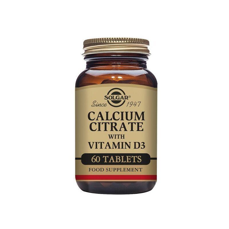 ROGAL Citrate de calcium avec vitamine d3 solgar 1000 mg - Rogal