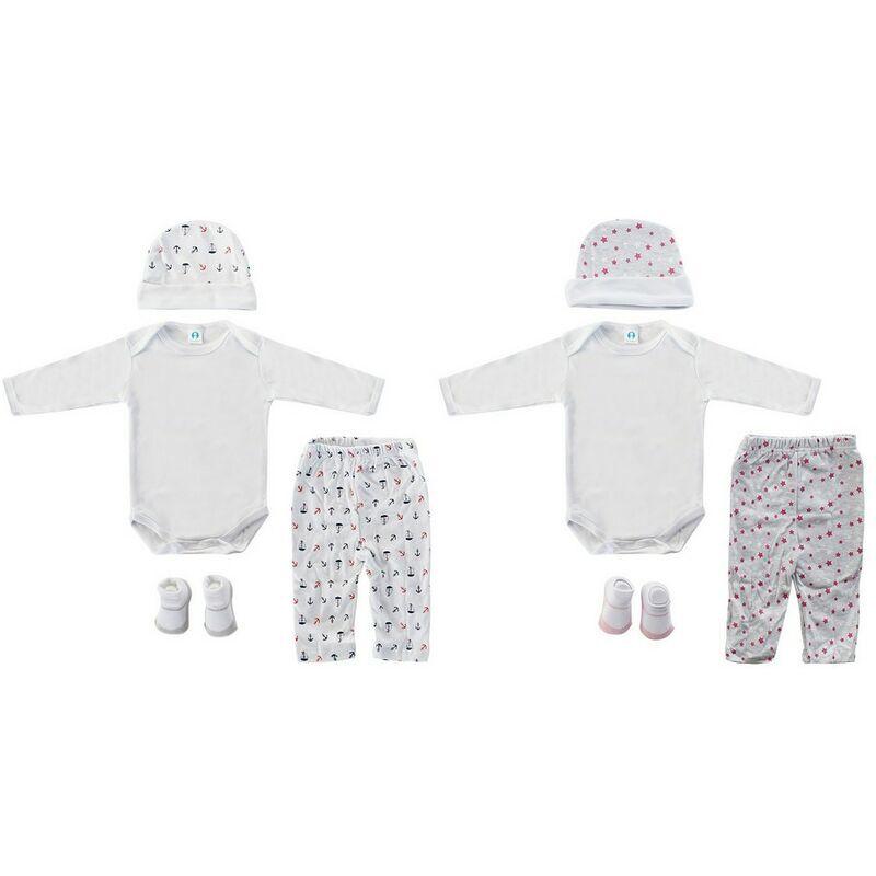ROGAL Coffret bébé dkd home decor 0-6 mois coton (2 pcs) Rogal
