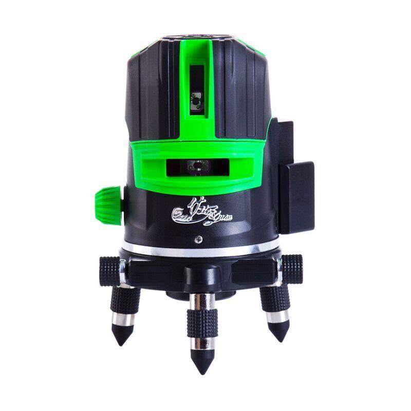 Perle rare Compteur de niveau laser extérieur Super light level meter 5 lignes rechargeable