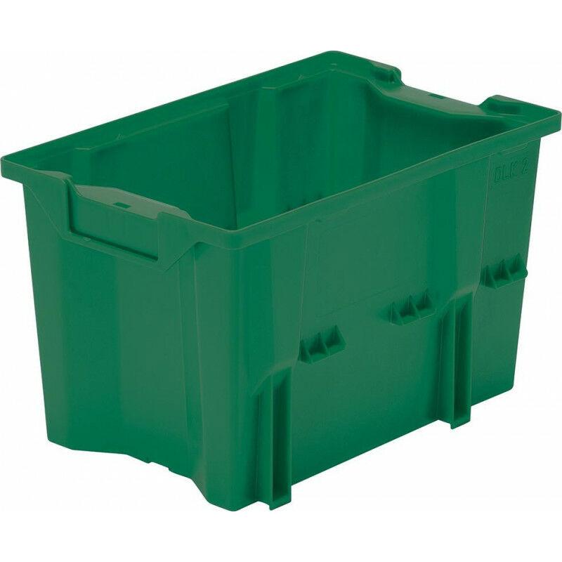 FP Conteneur empilable et emboîtable DLK 2 vert (Par 10)