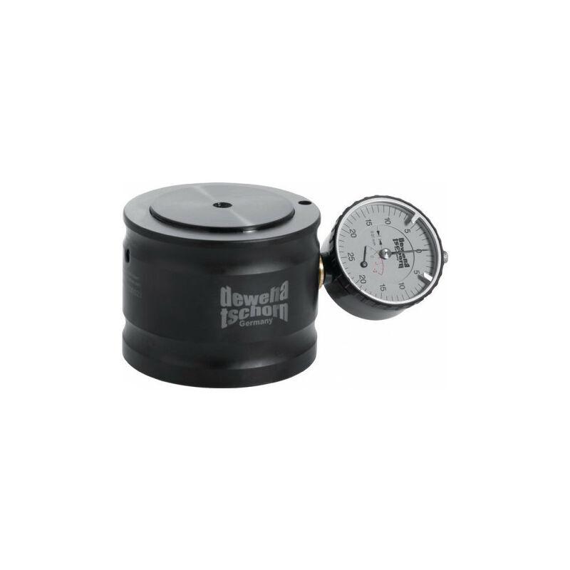FP Dispositif de mise à zéro, 0,1 mm de diamètre avec comparateur à cadran sur le côté