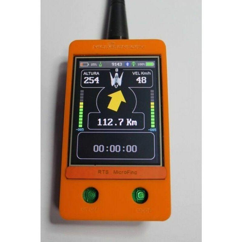 MICROSENSORY émetteur mini gprs avec panneau solaire, récepteur micro trouver et carte de données