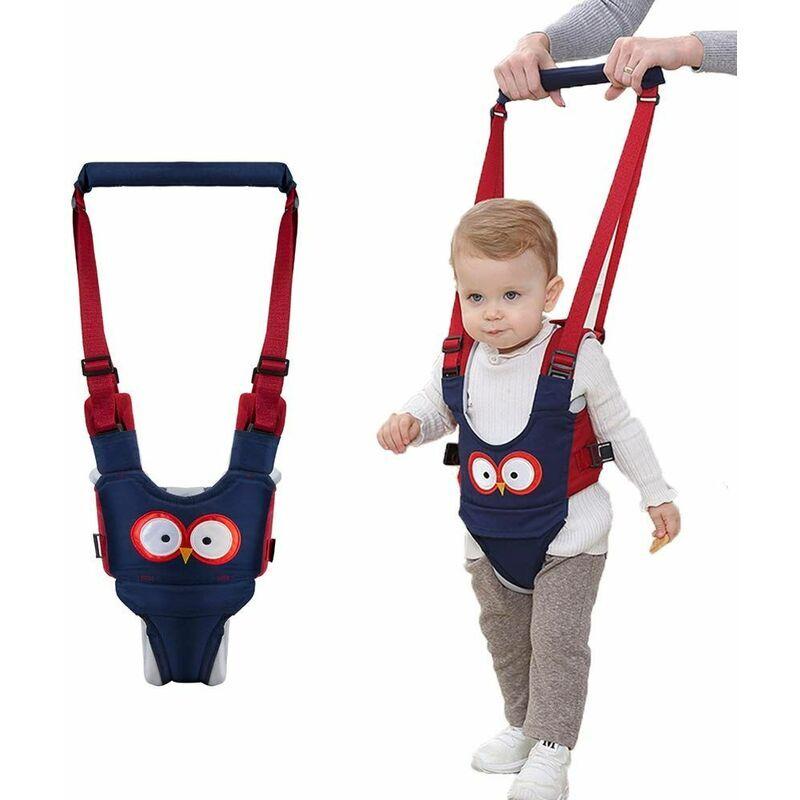 Briday - Harnais de marche pour bébé Baby Walker - Harnais de sécurité réglables, tirant et soulevant à double usage 7-24 mois Aide à l'apprentissage