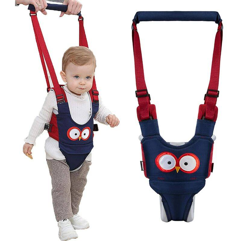 Briday - Harnais de marche pour bébé Trotteur - Harnais de sécurité réglables, tirant et levant à double usage 7-24 mois Respirant Aide à