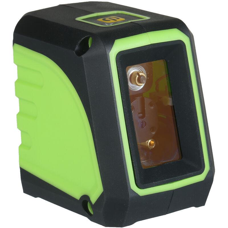 Happyshopping - Indicateur de niveau laser vert a 2 lignes KKmoon (neutre) avec sac en tissu + support magnetique livre sans batterie