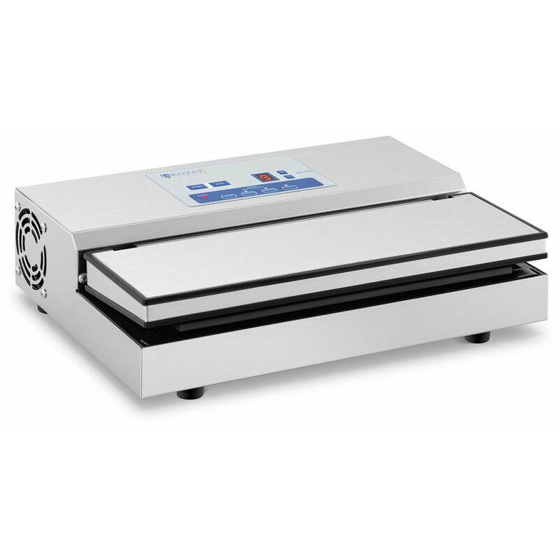 HELLOSHOP26 Machine sous vide alimentaire 440 watts 31 cm acier inoxydable - Argenté