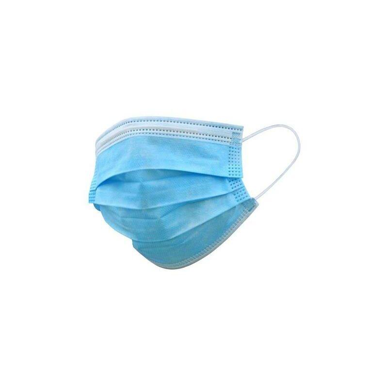 ROGAL Masque jetable 3couches coas bleu (taille unique) - Rogal