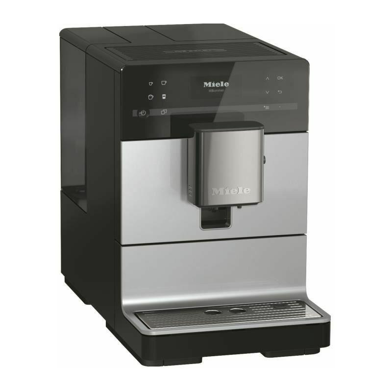 Miele Machine a café automatique avec broyeur a grains CM 5510 Silence GR - Silver - Miele