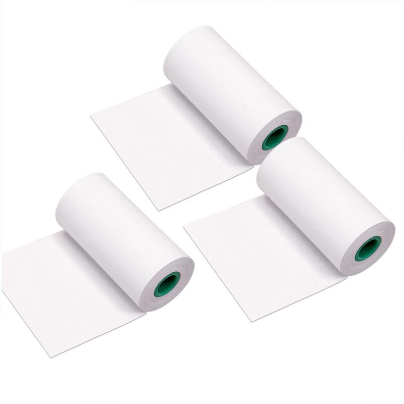 Happyshopping - Note de conservation longue duree 10 ans Rouleau de papier thermique 56*30mm / 2.2*1.2in Police noire sans BPA Pas d'etiquettes
