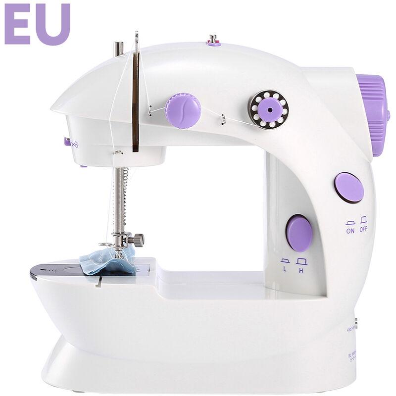 HAPPYSHOPPING Produits de couture de tissu de bricolage de mini machine a coudre de menage standard europeen