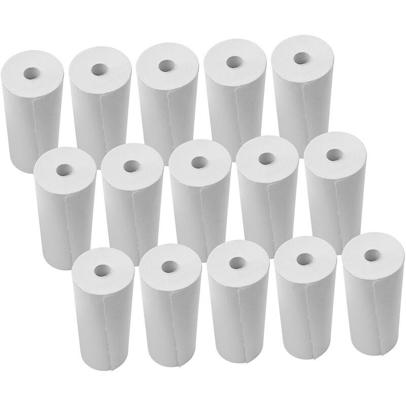 Happyshopping - Rouleaux de papier thermique Rouleaux de caisse enregistreuse de papier d'imprimante 80 * 30mm pour l'impression de papier de re?u de