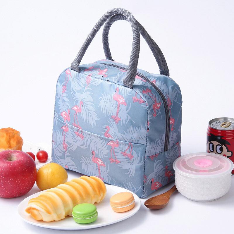 BETTERLIFE Sac Isotherme Repas Bureau Lunch Bag Sac à déjeuner Fraîcheur Sac de Transport Repas Pique-Nique Sac de Poche Toile Imperméable isolé pour Femme,