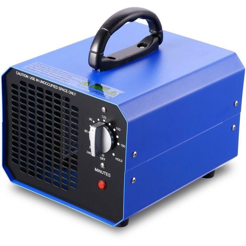 BETTER MAISON Stérilisateur de grande capacité de machine d'ioniseur d'épurateur d'air du générateur 10g / h d'ozone - Bleu