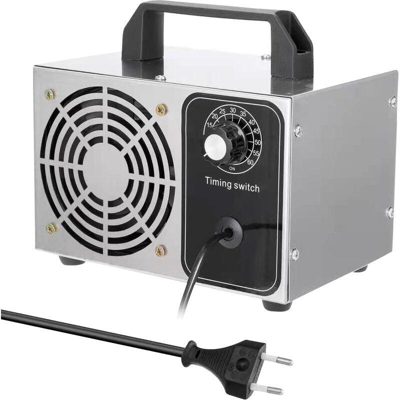 ASUPERMALL Generateur D'Ozone Machine A Ozone O3 Purificateur D'Air Ioniseur D'Air Pour La Maison Hotels Voitures, Blanc 28G
