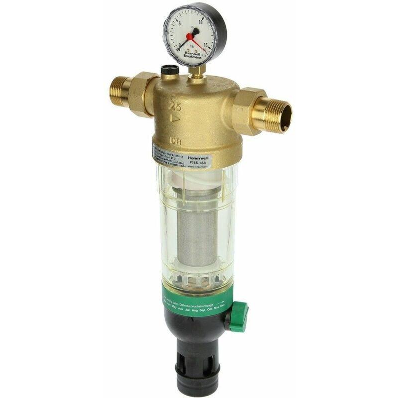LE SANITAIRE Honeywell Dispositif de filtrage d'eau sanitaire, F76S-1/2''AA