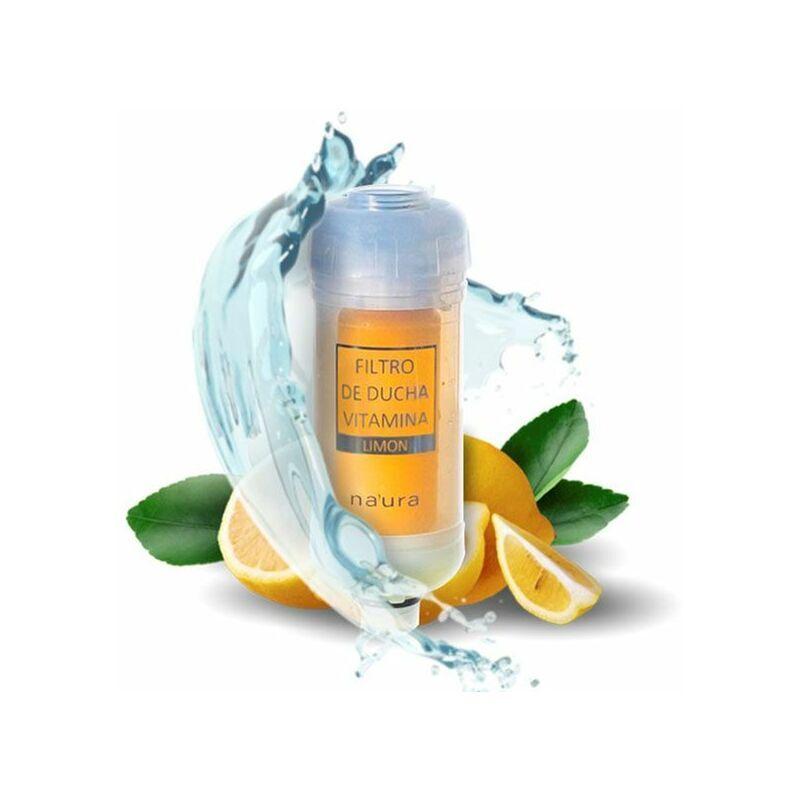 PLANTAWA Filtre de Douche Revitalisant Naturel et Écologique au Parfum de Citron avec Vitamines - Plantawa