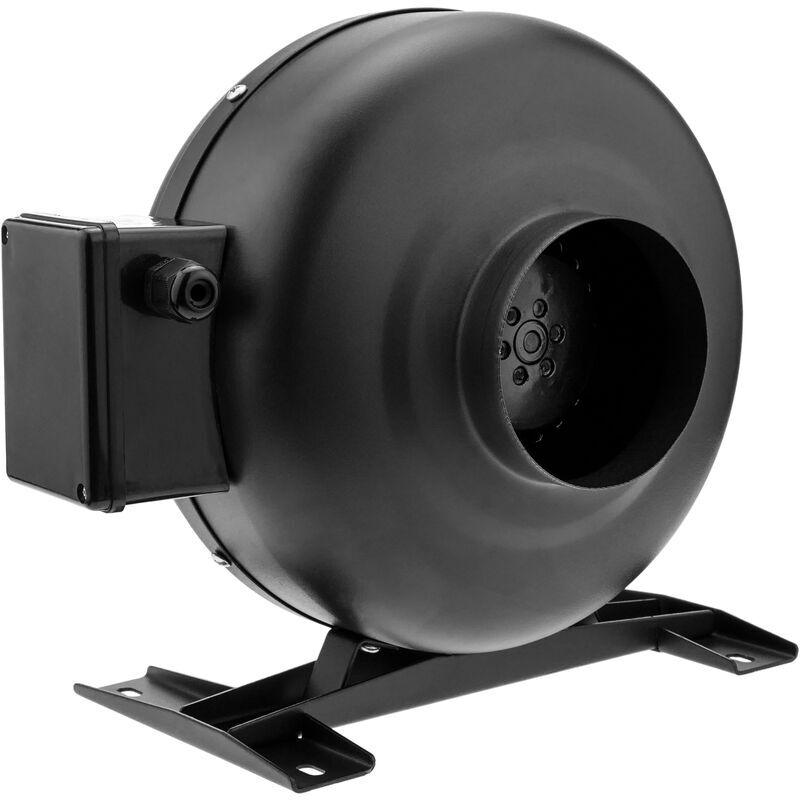 PrimeMatik - Ventilateur de tube de 125 mm. Extracteur de conduit en ligne pour ventilation industrielle