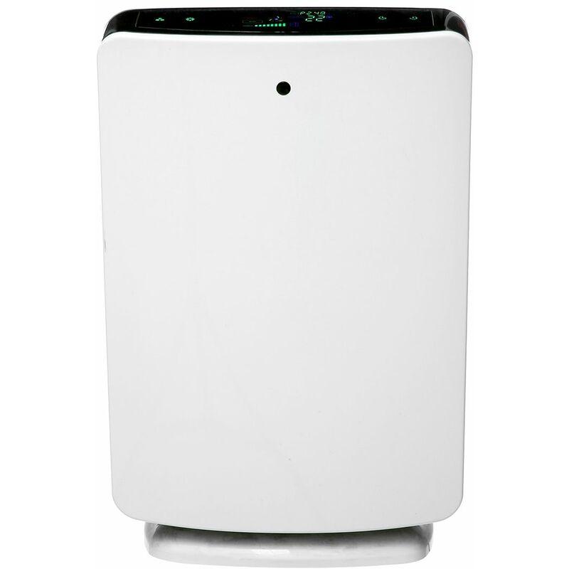 DRILLPRO Purificateur d'air Filtre HEPA Ioniseur Fumée Poussière Poussière Cleaner 325m3 / h PM2.5 EU LAVENTE - Blanc