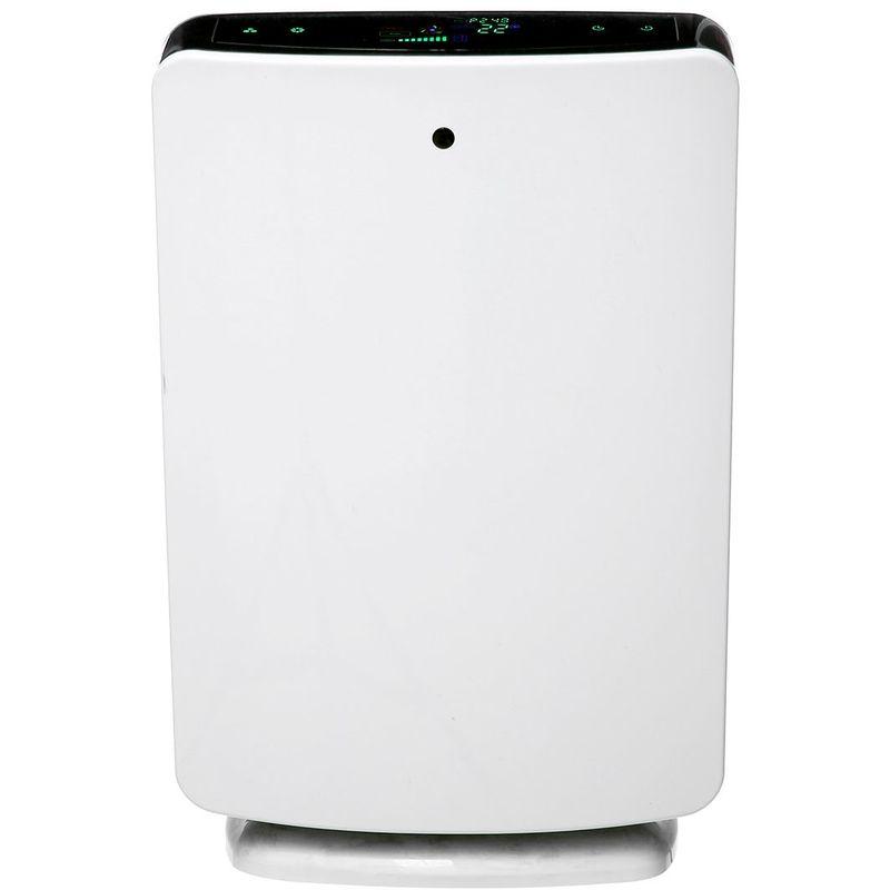 MOHOO Purificateur d'air Filtre HEPA Ioniseur Fumée Poussière Poussière Cleaner 325m3 / h PM2.5 EU - Blanc