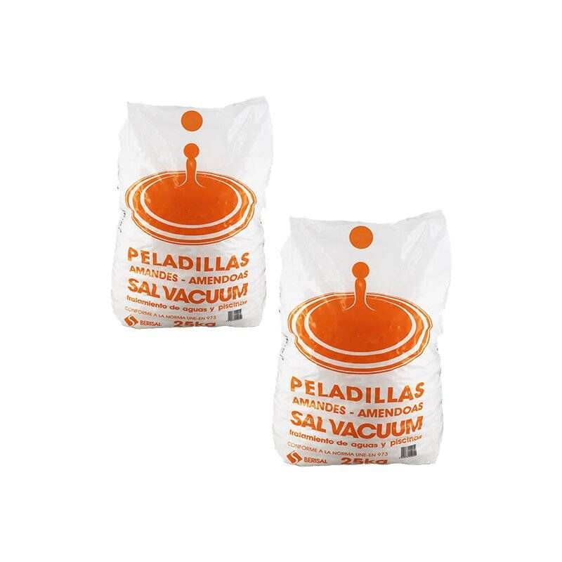 Sel adoucisseur - 2x25 kg - Catégorie Adoucisseur d'eau