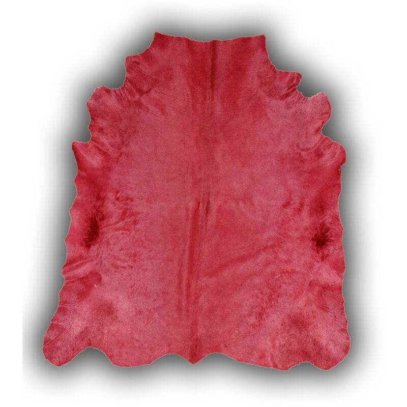 ALLOTAPIS Peau de vache avec imprimé taureau Cuenca Rose 190x185 - Rose