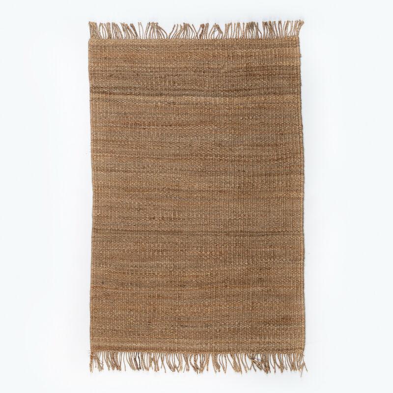 SKLUM Tapis en Chanvre Naturel Calmah chanvre - 120x201 cm - Sklum