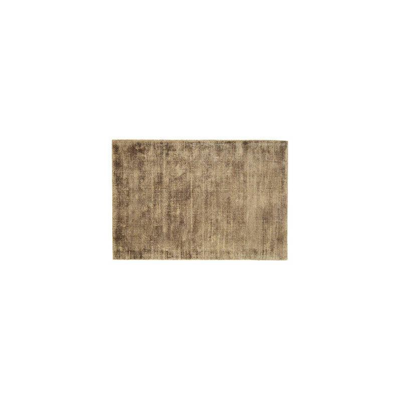 M&S Tapis 120x170 cm en viscose café - FLASH