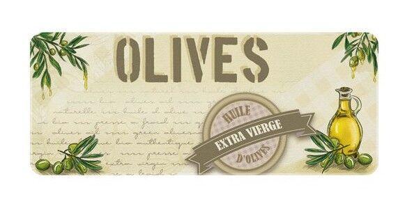 ID MAT Tapis de cuisine - 50x120 cm - Huile d'olives - Id Mat