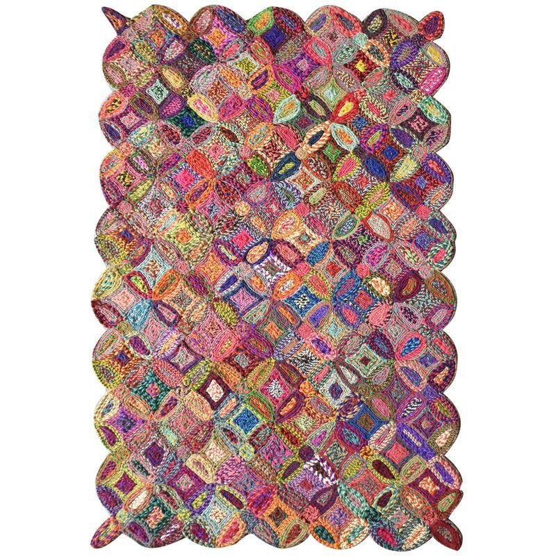 THE RUG REPUBLIC Tapis Cameo multicolore 160 x 230 cm The Rug Republic - MULTICOLORE