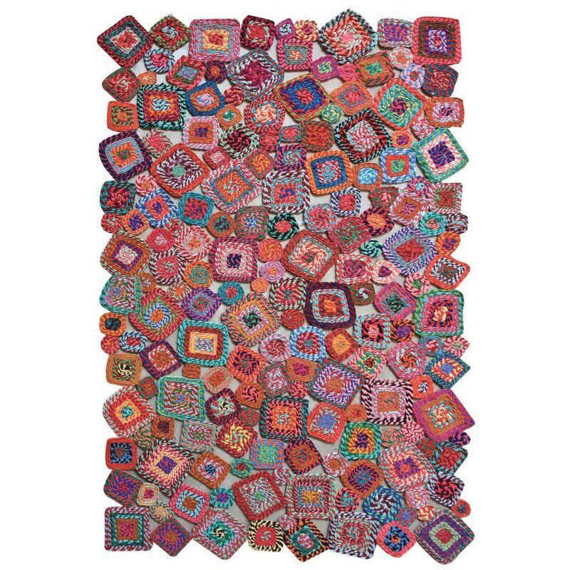 THE RUG REPUBLIC Tapis Gunray multicolore 160 x 230 cm MULTICOLORE - The Rug Republic