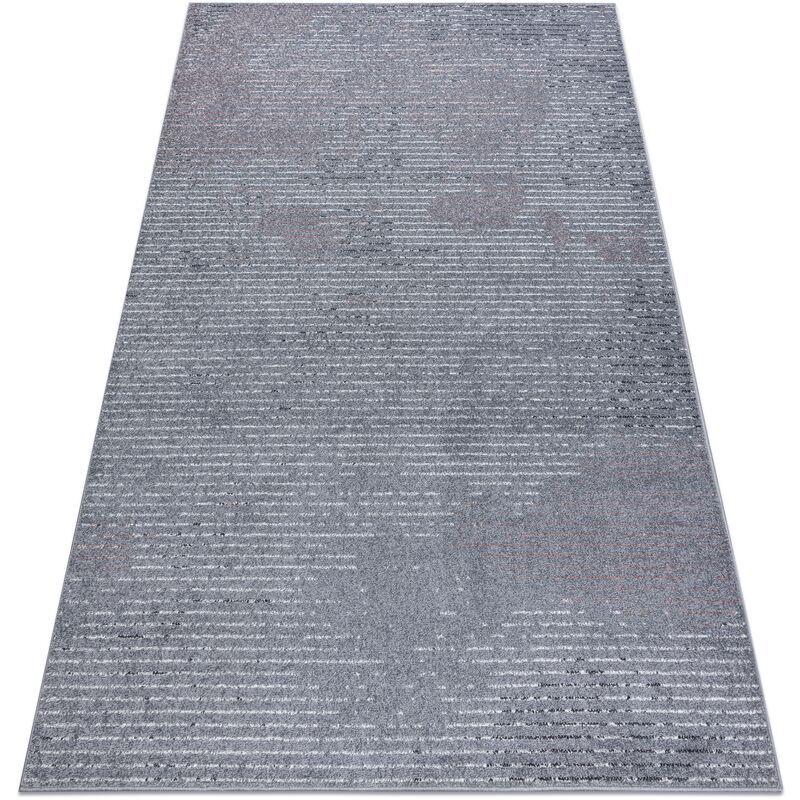 Rugsx - Tapis HEOS 78596 argent / rose LIGNES nuances de gris et argent 120x170 cm