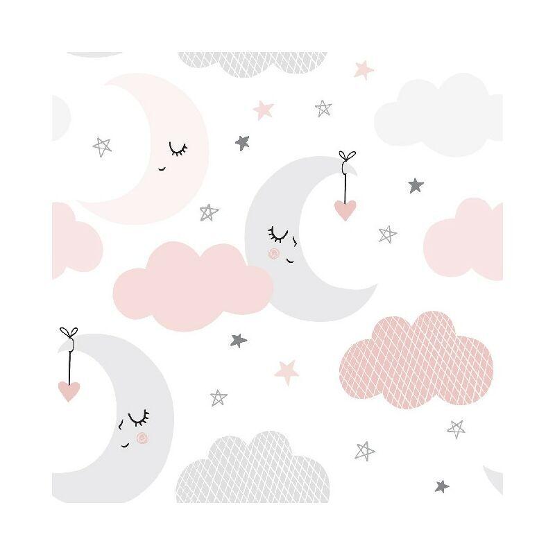 HOMEMANIA Tapis Imprime Baby Dream - pour les enfants - Decoration de Maison - antiderapants - Pour Salon, sejour, chambre a coucher - Multicolore en
