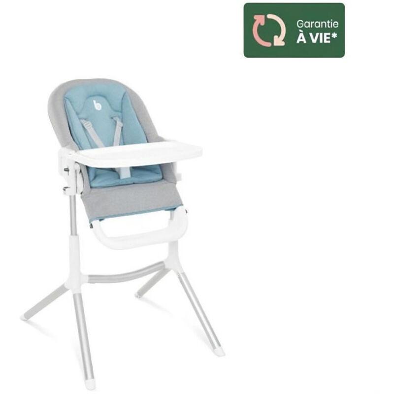 BABYMOOV Chaise Haute Slick - 2 en 1 - Tablette double ouverture & Transat avec Réducteur nouveau-né - Babymoov