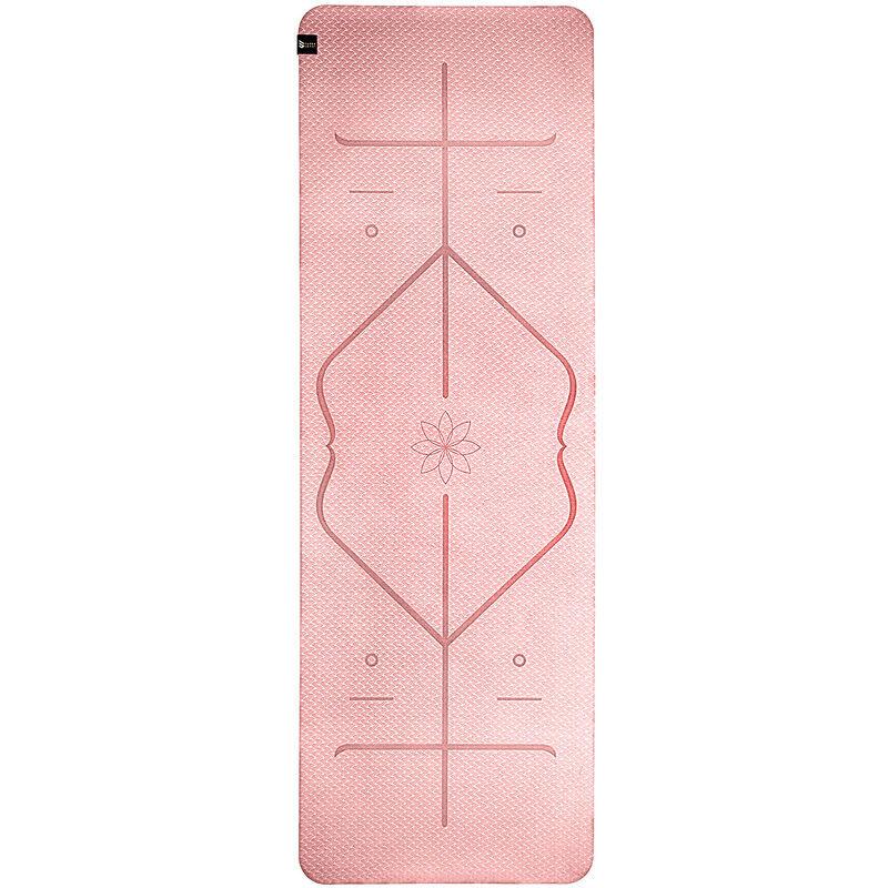 Capitals - Capital Sports Tapis de yoga Ojas Professional 183x0, 5x61cm, TPE, avec lignes de posture