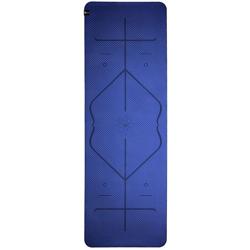 Capitals - Capital Sports Tapis de yoga Ojas Professional, 183x0,5x61cm TPE, avec lignes d'orientation
