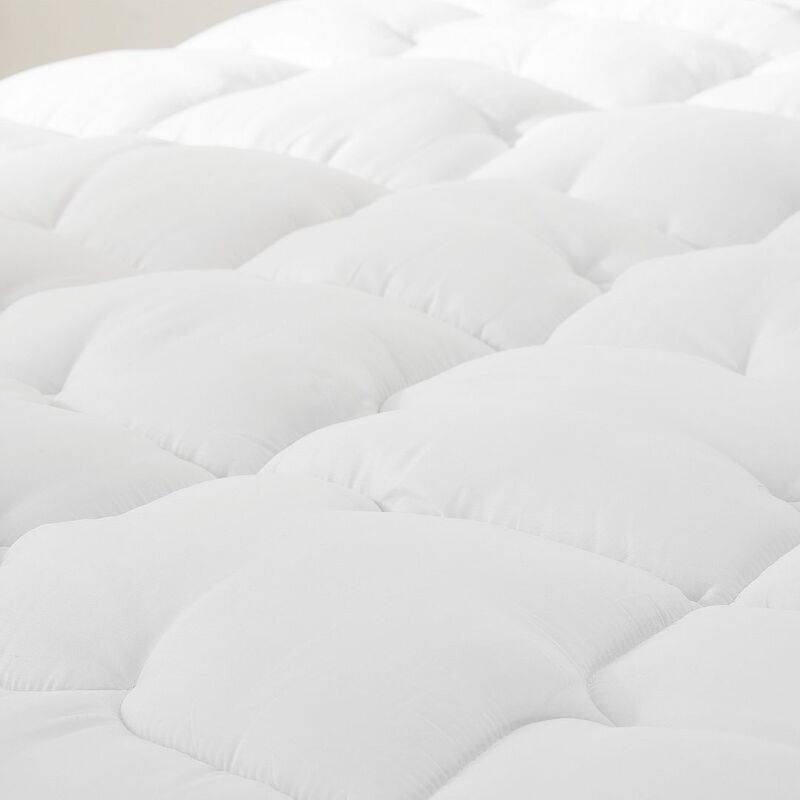 Pursens - Couette 220x240 Grand froid - Garnissage haute densité 700g/m² fibre creuse - Traitement anti-acarien, bactérien, moisissures - BLANC