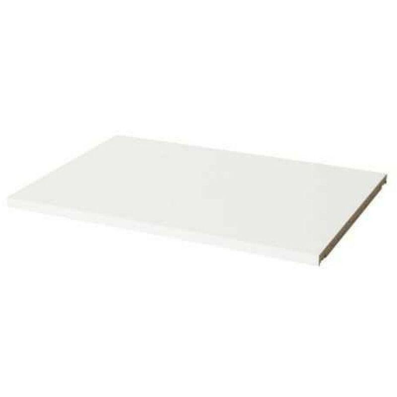 LES TENDANCES Etagère pour armoire 2 portes bois laqué blanc Lewis