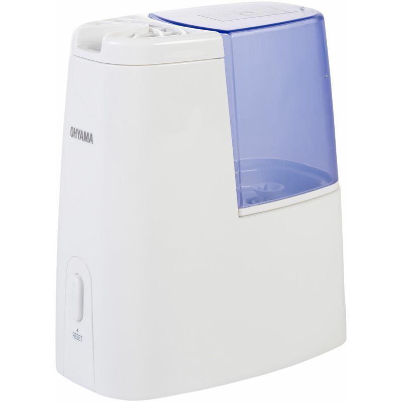 IRIS OHYAMA . SHM-120D Humidificateur d'air maison et diffuseur d'huiles essentielles 1 L - Blanc (bleu) - 11.5 x 20.2 x 22.3 cm - Iris Ohyama