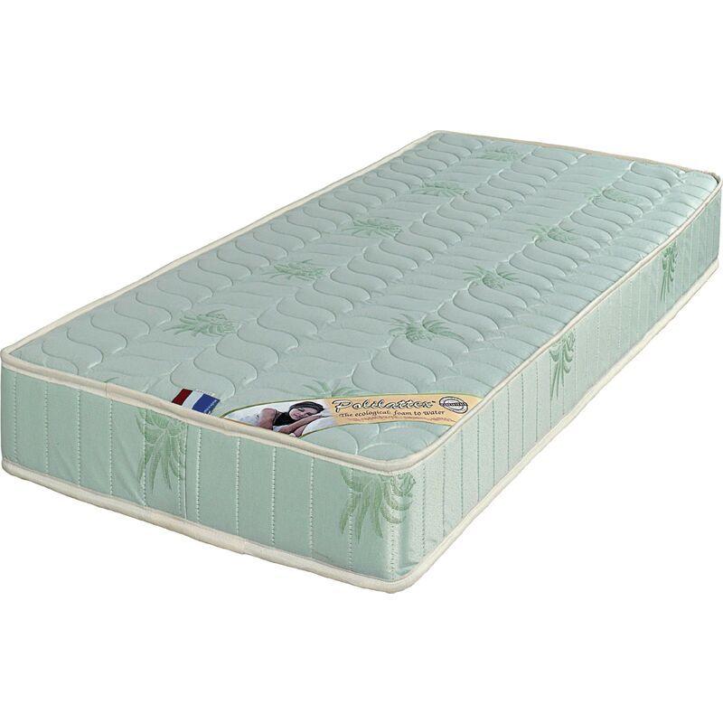 Literie Julien - Matelas 70x190 x 19 cm - Ferme - Tissu a l'Aloe Vera - Noyau Poli Lattex HR Dernière Génération Indéformable - Très Respirant
