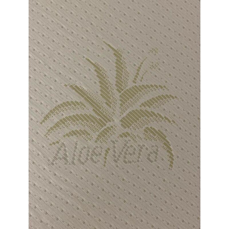 NUITS D'OR Matelas bébé 60x120 cm Hauteur 10,5 cm - Tissu avec Aloe Vera - Déhoussable Housse Lavable à 40° + Alese impermeable Offerte - Hyppoallergénique